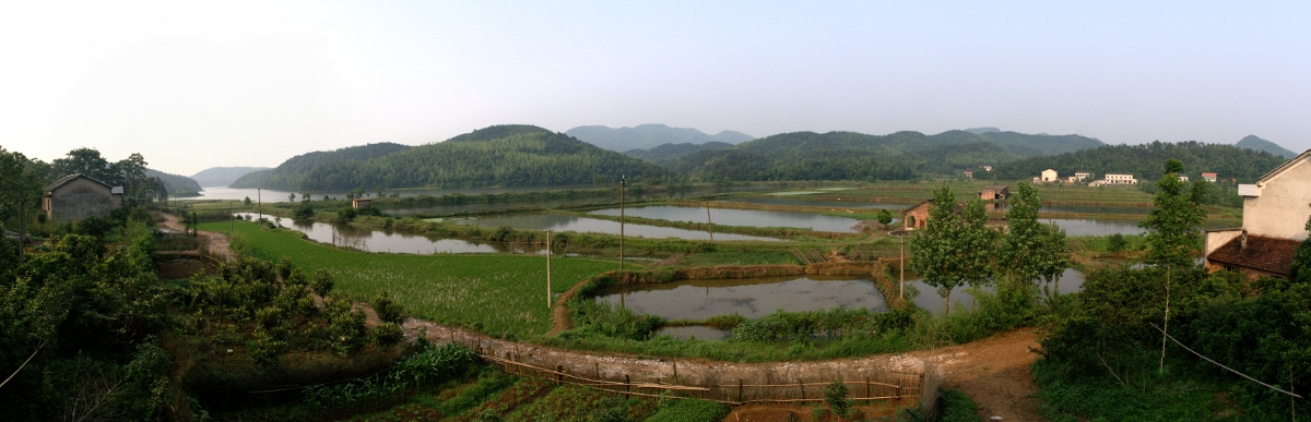 Countryside in Hunan
